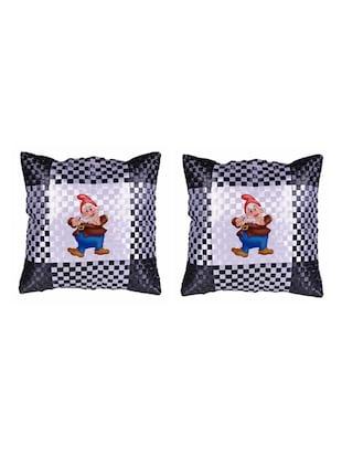Cartoon Printed Set Of 5 Cushion Covers - 14535854 - Standard Image - 2