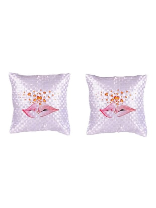Expressing  Love Printed Set Of 5 Cushion Covers - 14535866 - Standard Image - 2