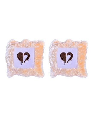 Heart Printed Set Of 5 Cushion Covers - 14535890 - Standard Image - 2