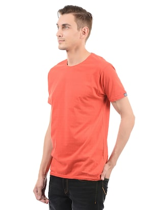 red cotton t-shirt - 14542193 - Standard Image - 2