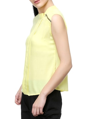 yellow solid top - 14542420 - Standard Image - 2