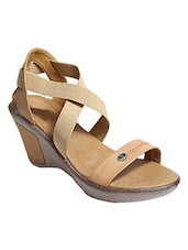 nude closed back wedge -  online shopping for wedges