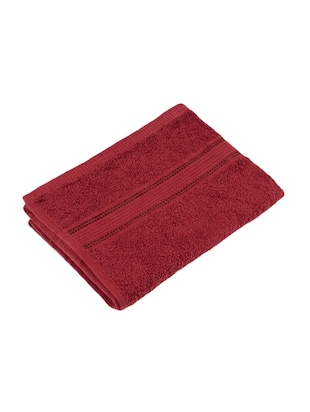 Set of 2 Cotton 370 GSM Classic Hand Towels - 14544805 - Standard Image - 2