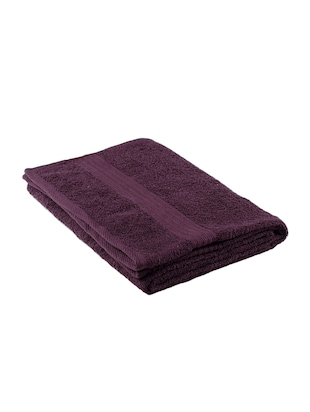 Cotton 400 GSM Monaliza bath towel - 14544827 - Standard Image - 2