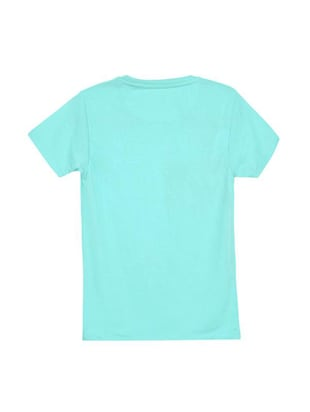 blue cotton t-shirt - 14546786 - Standard Image - 2