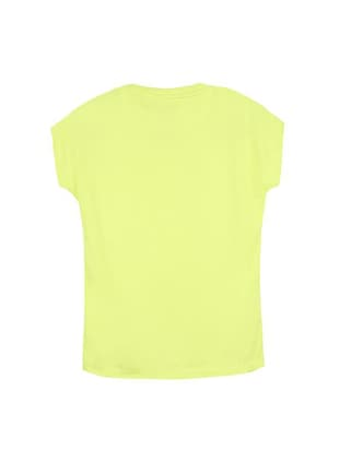 yellow cotton tee - 14547120 - Standard Image - 2