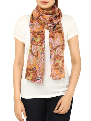 multi cotton scarf - 14547364 - Standard Image - 2