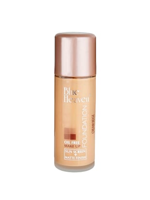 BLUE HEAVEN Oil Free Foundation Cream Beige) -  online shopping for foundation