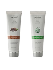 DeBelle Skin Moisturizer Combo Kit Of 2 ( Cocoa Blush And Green Tea Infusion ) - By