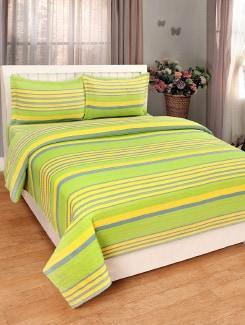 Buy Green Bed Covers Black Wall Clocks Orange Decorative