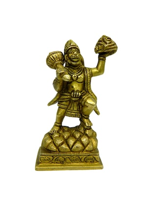 Decorative Brass God Idol of Hanuman Handicrafts Product -  online shopping for Figurines