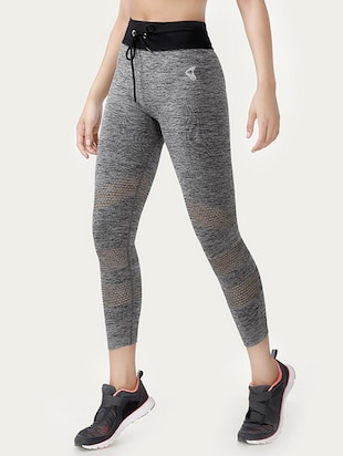 grey polyester leggings -  online shopping for Leggings