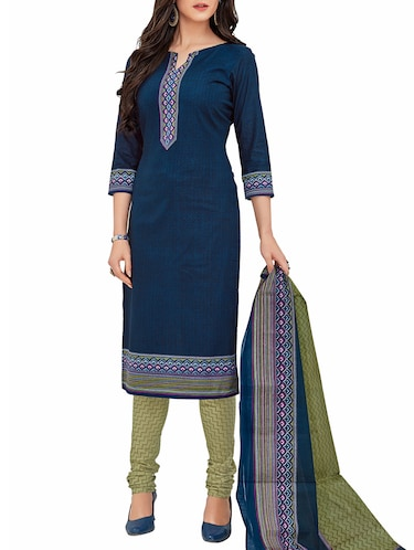 Cotton Salwar kameez - Buy Cotton Suits Online in India d129ee63c