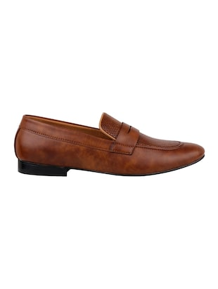 tan Leatherette slip on - 14658850 - Standard Image - 2