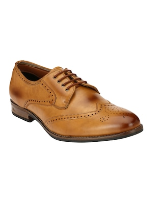 tan Leather formal derby