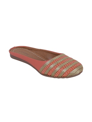 orange slip on jutis - online shopping for Jutis & Mojaris