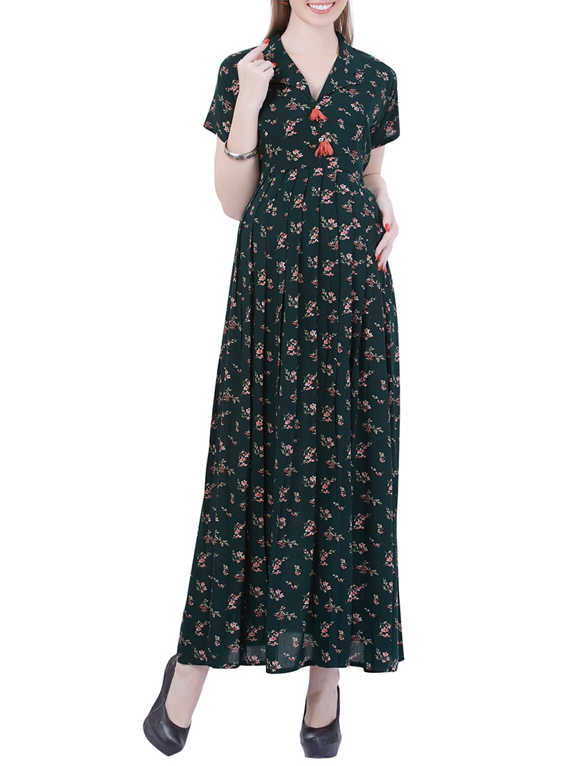 Buy green maternity wear dress by momtobe online shopping for explore this look hover over image to zoom ombrellifo Images
