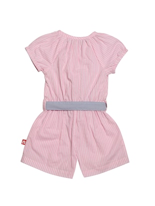 pink cotton playsuit - 14720743 - Standard Image - 2