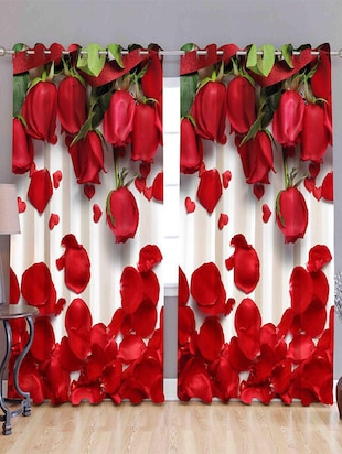 Door Curtain Digital Printed Curtain -  online shopping for Curtains