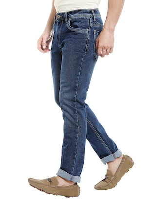 blue denim washed jeans - 14764683 - Standard Image - 2