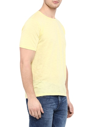 yellow cotton t-shirt - 14774628 - Standard Image - 2