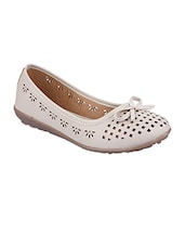 white suede slip on ballerina -  online shopping for ballerina
