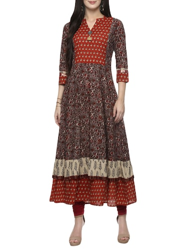 45ac0219698d8 Mandrain Collar Kurta- Buy Ladies Long Kurta