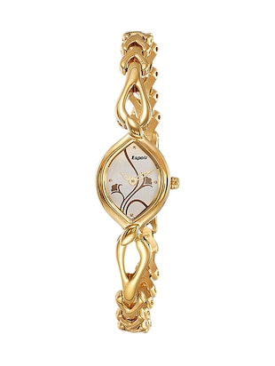 Espoir Diva Collection Analog White Dial Women's Watch - 2455YM -  online shopping for Analog watches