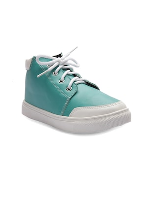 green leatherette sneaker -  online shopping for sneakers
