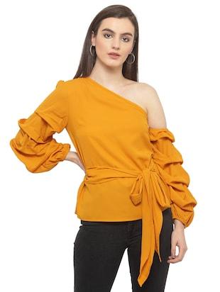 Marzeni tops buy tops for women online in india limeroad thecheapjerseys Gallery