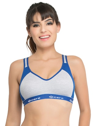 Set of 2 multi colored sports bras - 14846271 - Standard Image - 2