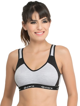 Set of 2 multi colored sports bras - 14846272 - Standard Image - 2