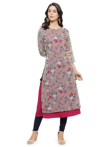 990e43f2de1 Looking for Georgette Kurtis under 499  Buy Georgette Kurti Design ...