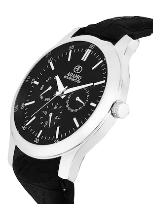 ADAMO Multifunction (Working Inner Hands) Wrist Watch A206SL02 - 14856219 - Standard Image - 2