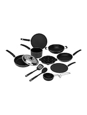 12 Pieces Non-Stick Cookware Gift Set, Black -  online shopping for Cookware Sets