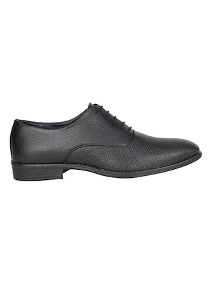 black leatherette formal oxford - 14865210 - Standard Image - 2