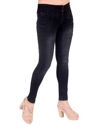 black denim jeans - 14881232 - Standard Image - 2