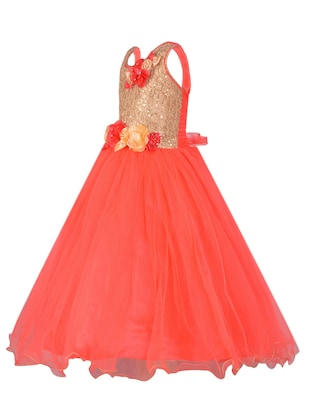 pink net party gown - 14885023 - Standard Image - 2