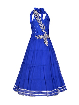 blue net party gown - 14885035 - Standard Image - 2