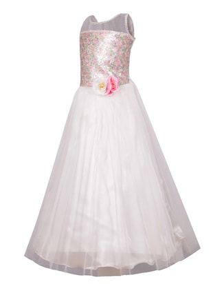 white net party gown - 14885041 - Standard Image - 2