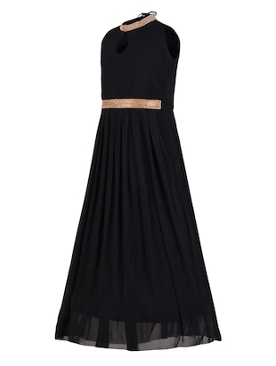 black net party gown - 14885071 - Standard Image - 2