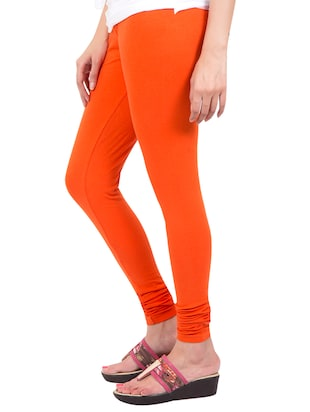 orange solid leggings - 14889534 - Standard Image - 2