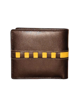 brown leather wallet - 14890520 - Standard Image - 2