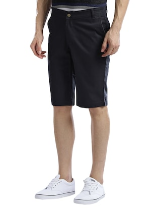navy blue cotton shorts - 14890608 - Standard Image - 2