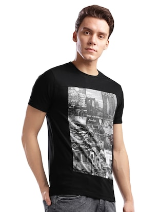 monochrome cotton  t-shirt - 14890633 - Standard Image - 2