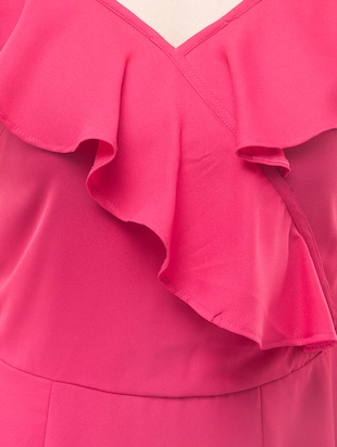 pink solid sheath dress - 14890916 - Standard Image - 5