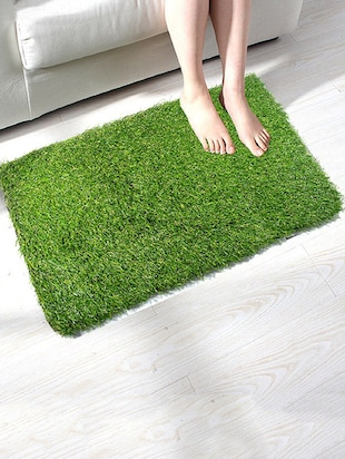 River Grass Artificial Carpet Nylon With Rubber Pack of 5 - 14895448 - Standard Image - 2