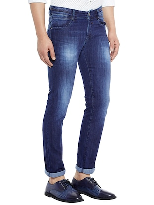 blue denim washed jeans - 14896144 - Standard Image - 2