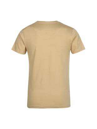 beige cotton t-shirt - 14896195 - Standard Image - 2