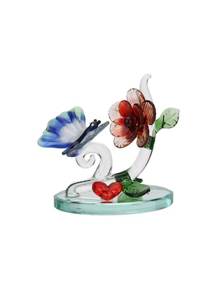Somil Attractive Red Heart And Butterfly Decorative Showpiece - 14896219 - Standard Image - 2